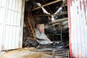 Hiện trường vụ cháy kinh hoàng khiến 8 người chết, 2 người bị thương