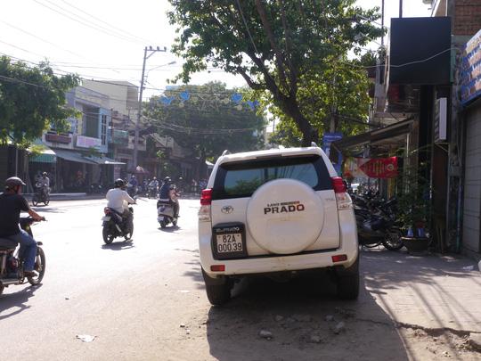 Chiếc xe điên gaayra vụ đại náo ở Quy Nhơn