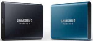 Ổ cứng thể rắn di động SSD T5