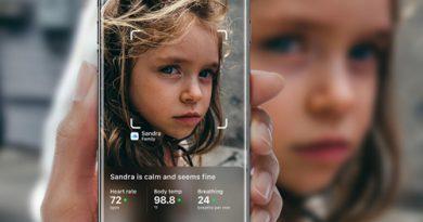Trong vài triệu phần giây Iphone  8 nhận diện gương mặt