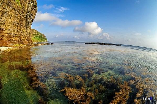 Vẻ đẹp như chốn thiên đường của biển Lý Sơn qua ống kính nhiếp ảnh gia