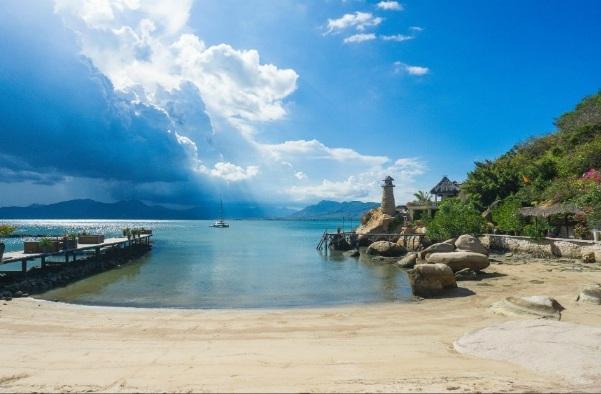 Khu resort cao cấp ven biển