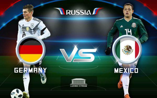 đội tuyển đức thua trận trước mexico