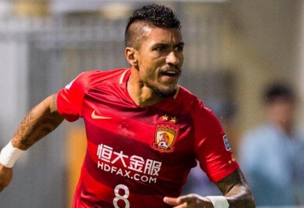 Paulinho trở lại Guangzhou Evergrande để thi đấu