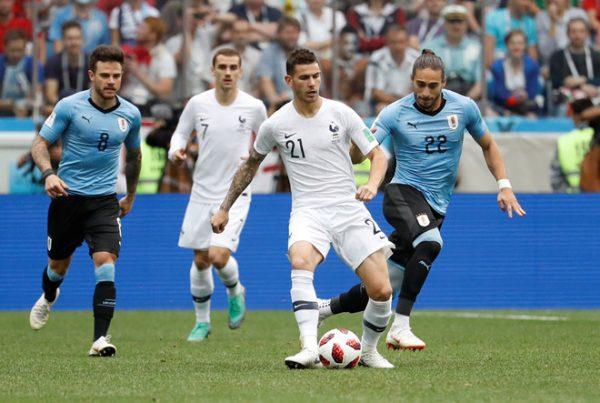 lí do pháp thắng uruguay