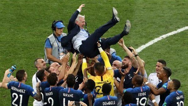 Pháp vô địch world cup sau 20 năm