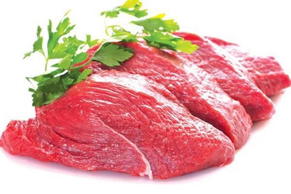 mơ thấy thịt bò