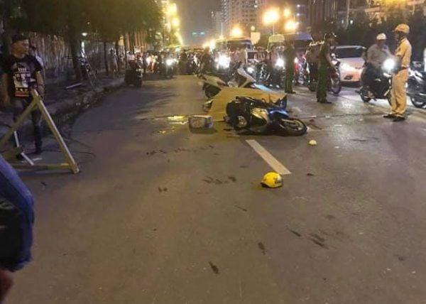 Khởi tố vụ thanh sắt công trình rơi làm 1 người chết ở Thanh Xuân