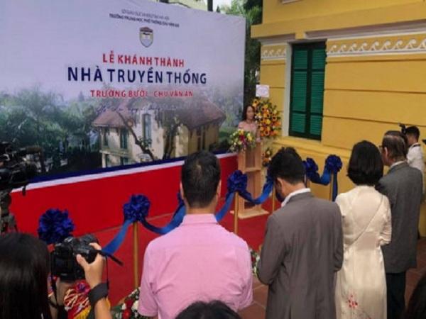 Tuần lễ kỷ niệm 110 năm Trường Bưởi- THPT Chu Văn An thành lập