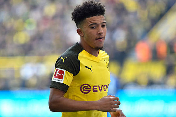 Sancho đang có phong độ cao cùng Dortmund lọt tầm ngắm M.U