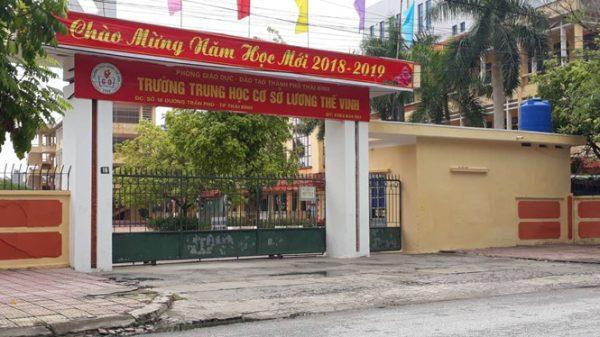 Phó phòng cảnh sát kinh tế tỉnh Thái Bình bị điều tra dâm ô nữ sinh