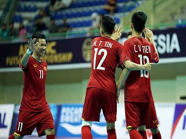 Đội tuyển Futsal Việt Nam vào bán kết Giải ĐNA 2018