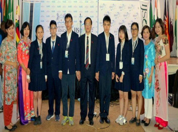 Việt Nam giành vị trí thứ 3 thế giới tại Kỳ thi Khoa học trẻ quốc tế