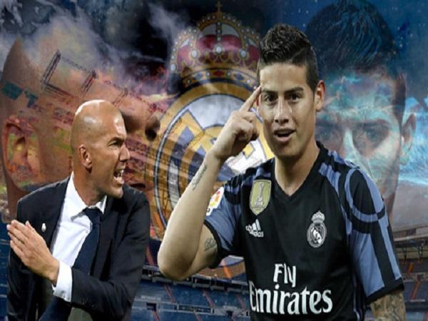 Mối quan hệ giữa Zidane và James