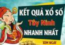 Soi cầu XS Tây Ninh chính xác thứ 5 ngày 28/01/2021