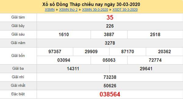 Phân tích XSDT 4/5/2020 - KQXS Đồng Tháp thứ hai