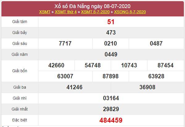 Soi cầu KQXS Đà Nẵng 11/7/2020 nhanh và chuẩn xác nhất
