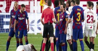 Tin bóng đá chiều 10/7: Messi bất lực dù không nghỉ phút nào sau dịch