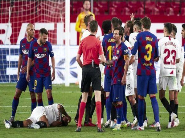 Messi bất lực dù không nghỉ phút nào sau dịch