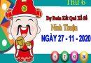 Dự đoán XSNT ngày 27/11/2020 – Dự đoán KQXS Ninh Thuận thứ 6