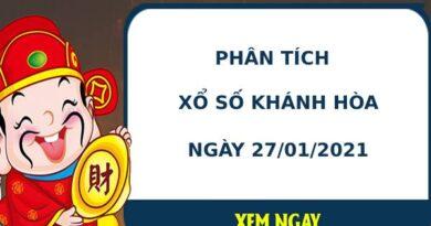 Phân tích kết quả XS Khánh Hòa ngày 27/01/2021