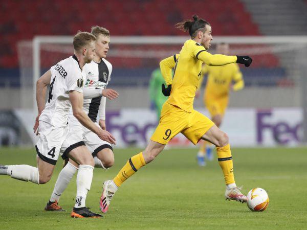 Bóng đá QT tối 19/2: Bale tỏa sáng trong thắng lợi của Tottenham