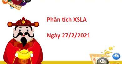 Phân tích XSLA 27/2/2021 – Phân tích xổ số Long An hôm nay