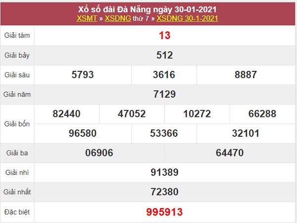 Thống kê XSDNG ngày 3/2/2021