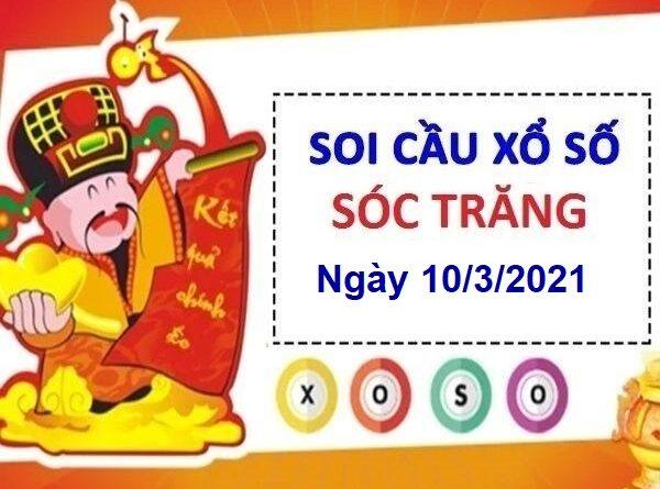 Soi cầu XSST ngày 10/3/2021
