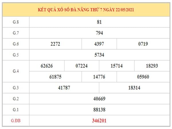 Phân tích KQXSDNG ngày 26/5/2021 dựa trên kết quả kì trước