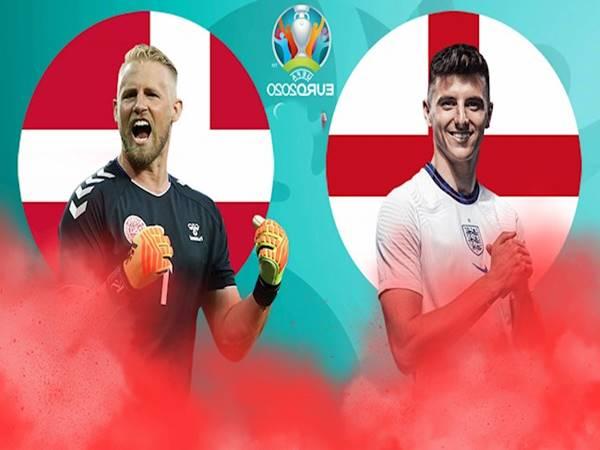 Soi kèo Anh vs Đan Mạch, 02h00 ngày 08/07 BK Euro