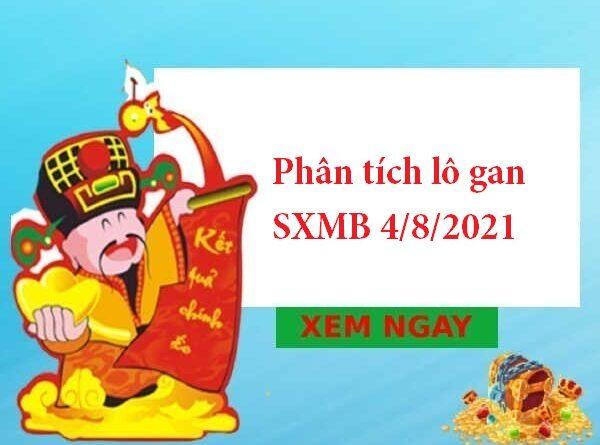 Phân tích lô gan SXMB 4/8/2021