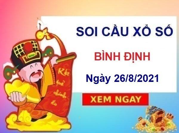 Soi cầu XSBDI ngày 26/8/2021